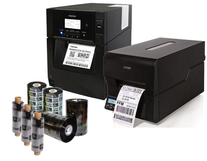Industriedrucker 25.4mm Core