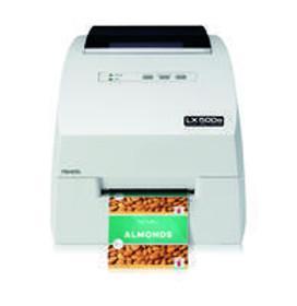 LX500e Color Label Printer 100-240 VAC, Euro Plug, CE