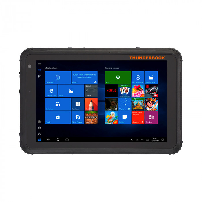 """Colossus W106 - Tablet 10"""" Windows 10 Enterprise, core i5, 8GB / 128GB, M4G, Wifi, Bluetooth 4.0, GPS"""