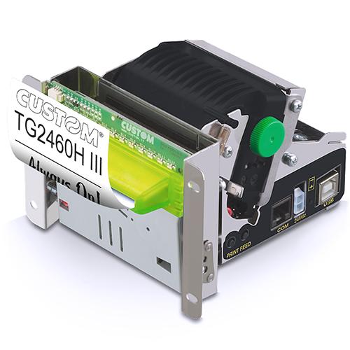 Impresora para estaciones de servicio custom TG2460HIII usb , rs232, cutter 58mm