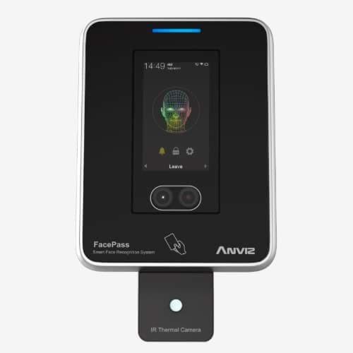 Anviz FacePass 7-IRT – Acceso facial con cámara térmica