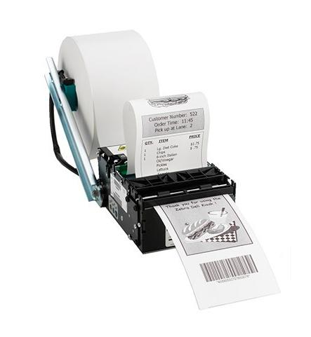 Zebra KR403, 64 Mo, USB, RS232, 8 points / mm (203 dpi)