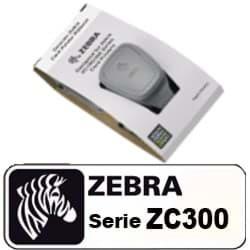 Cartouche de ruban pour imprimante de cartes ZC300 - YMCKO polychrome - 200 impressions