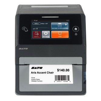 "Sato CT4-LX 4"" Smart Desktop Printer"