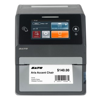 "Sato CT4-LX 4"" Smart RFID Desktop Printer"
