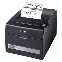 Citizen CT-S310II LAN, Dual IF, 8 points / mm (203 dpi), cutter, noir