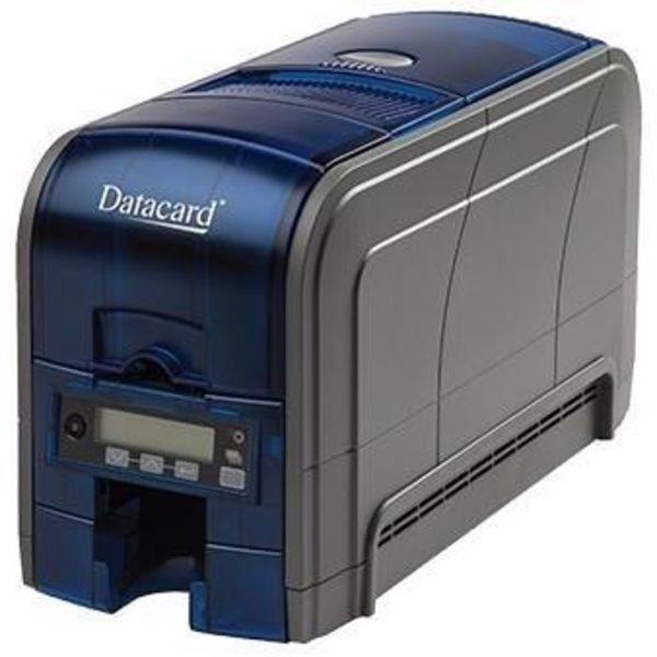 Datacard SD160 Impresora Tarjetas 300dpi, Con soporte Banda Magnética, USB Cargador 100 Tarjetas