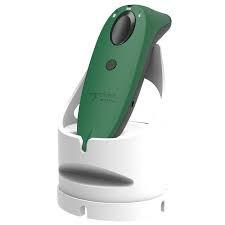 SocketScan S760 Universal Barcode Scanner & Travel ID Reader Green & White Dock,
