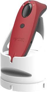 SocketScan S760 Universal Barcode Scanner & Travel ID Reader Red & White Dock,