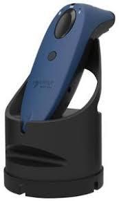 SocketScan S760 Universal Barcode Scanner & Travel ID Reader Blue & Black Dock,