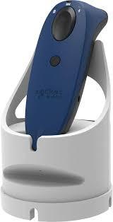 SocketScan S700 Linear Barcode Scanner Blue & White Dock,