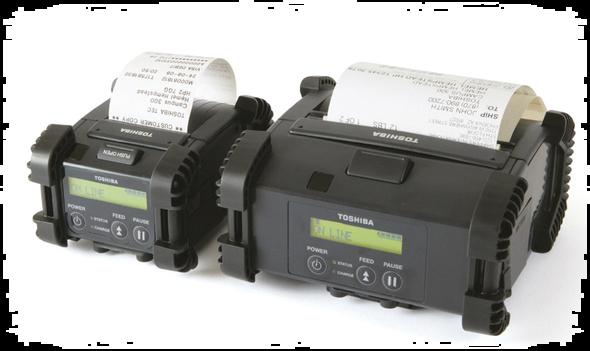 EP2DGH20 Tragbare 200 dpi mit serieller / USB-Verbindung, Breite 2
