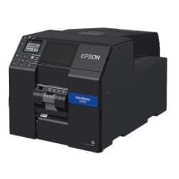 Epson ColorWorks CW C6000Pe, décapant, périphérique, USB, Ethernet, noir