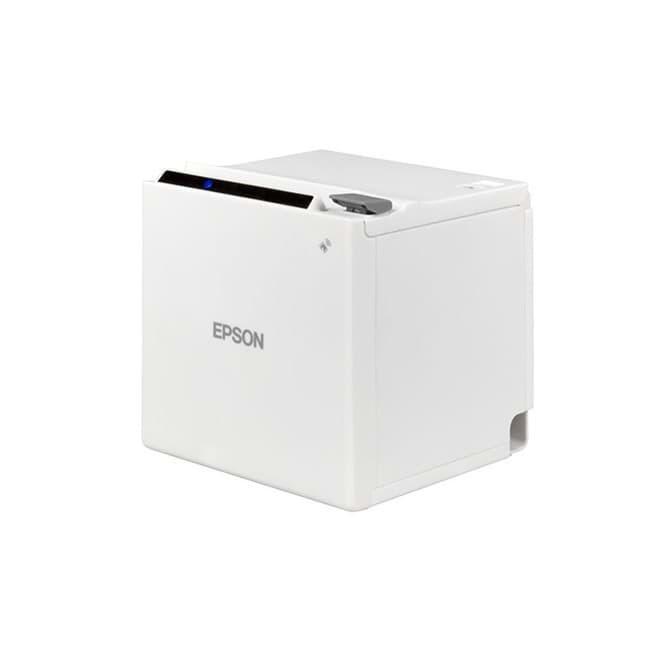 Epson TM-m30, USB, Ethernet, WLAN, 8 punti / mm (203 dpi), ePOS, bianco. UK