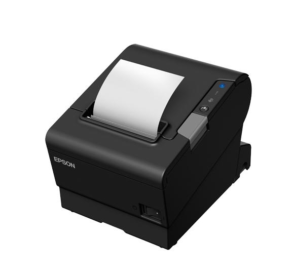 Epson TM-T88VI, USB, RS232, Ethernet, nero