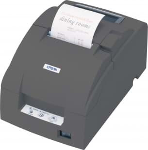 Epson TM-U220B, RS232, Cutter, noir