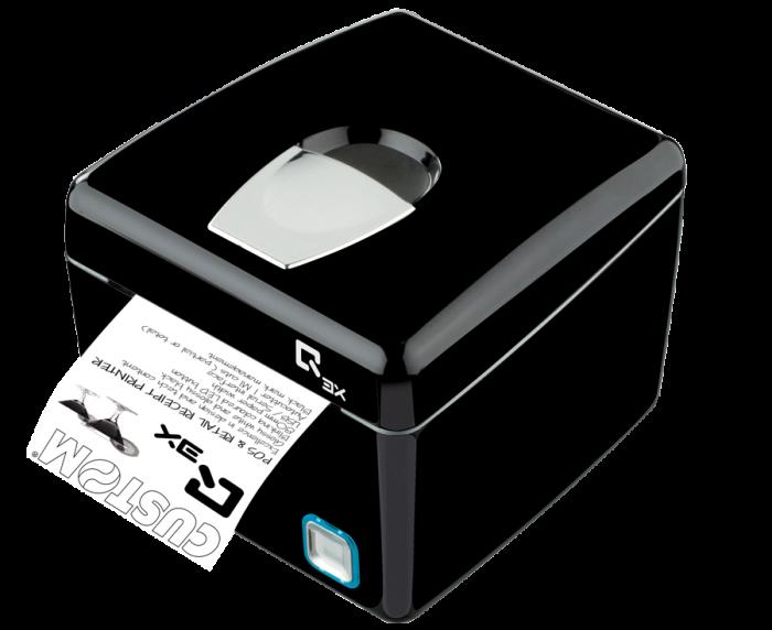 Imprimante Wi-Fi Q3X, USB, RS232, noire
