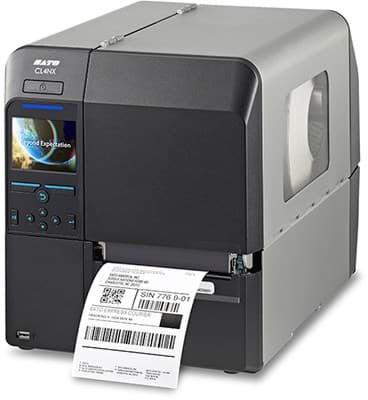 Sato-Drucker - CL4NX 203 dpi, TT und DT UHF RFID und RTC