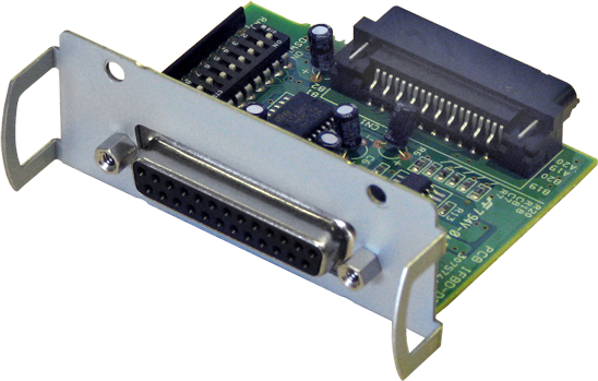 interface centrale, RS232