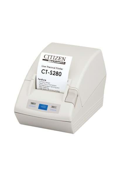 Citizen CT-S281L, USB, 8 Punkte / mm (203 dpi), Cutter, weiß