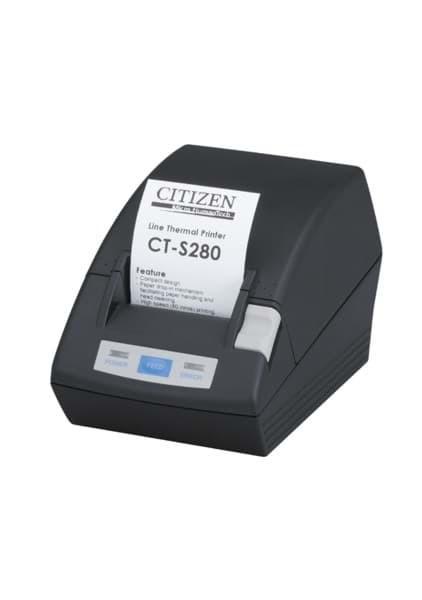 Citizen CT-S281L, RS232, 8 Punkte / mm (203 dpi), Cutter, schwarz