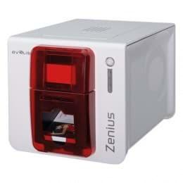 Evolis Primacy Simplex Expert Chip Smart Fire Una Cara, 12 puntos/mm (300dpi), USB, Ethernet, rojo