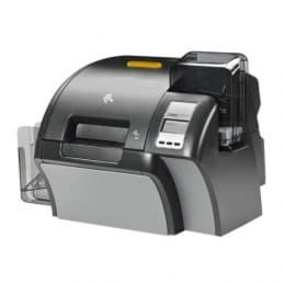 Zebra ZXP Series 9, double face, 12 points / mm (300 dpi), USB, Ethernet, Smart, RFID