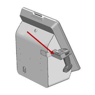 Kit de soporte para escáner de mano SS90