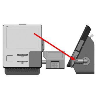 Brazo para dispositivo de pago para NCR Ss90