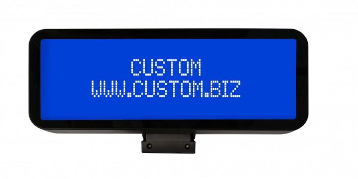 VFD2X20 Seidenfenster Client-Bildschirm