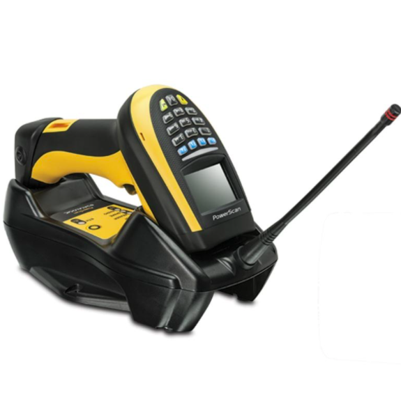 Datalogic PowerScan PBT9300, BT, 1D, AR, RB, yellow / black