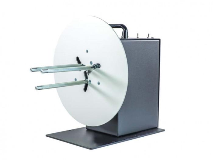 Label rewinder, label width up to 155mm roll diameter 280mm