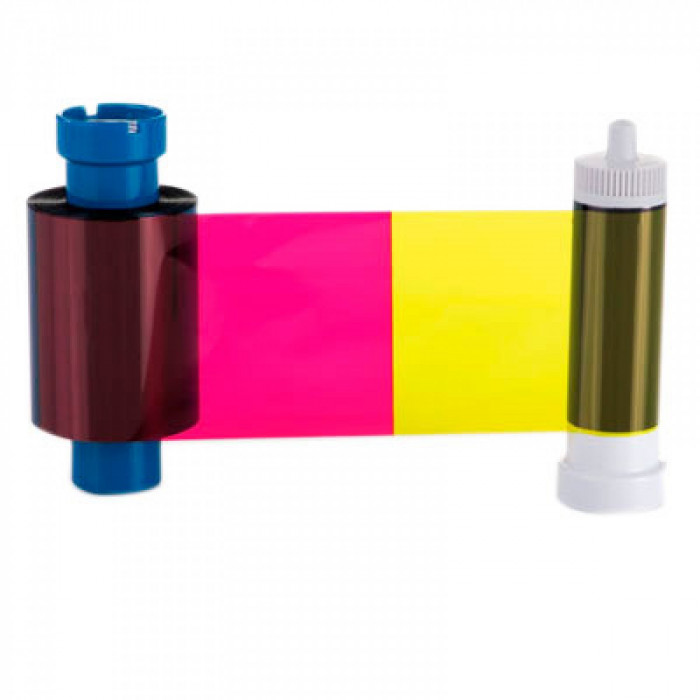Cinta Color doble cara (YMCKOK) 250 impresiones Color en el anverso y negro en el reverso