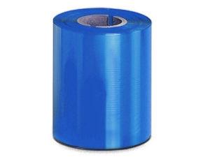 Ribbon 90mm x 300m Color Azul, caja de 27 unid.