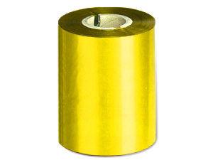 Ribbon 90mm x 300m Color Oro Metálico, caja de 27 unid.