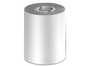 Ribbon 90mm x 300m Color Plata Metálico, caja de 27 unid.