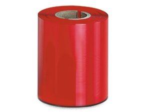 Farbbandfarbe Rot, 90 mm x 300 m, Kern 25,4 mm