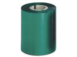Ribbon 90mm x 300m Color Verde, caja de 27 unid.