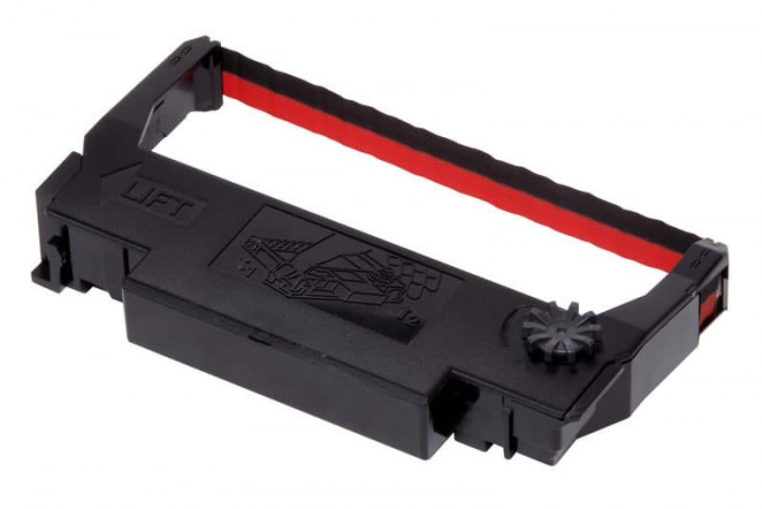 Epson ERC 38 Black / Red Ribbon / Ribbon for TM-U 210, TM-U 220, TM-U 200, TM-U 230, TM-U 375