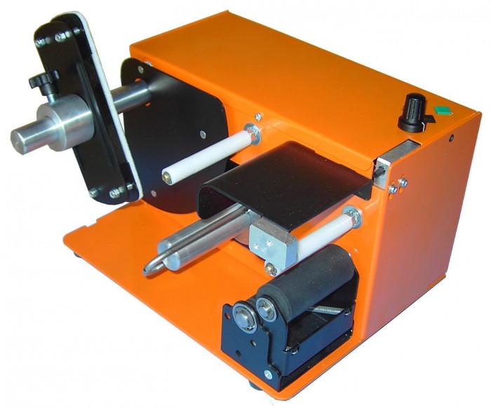 Dispensador Etiqueta. DPR SED-03 Ancho hasta 70mm. Diámetro bobina 200mm.