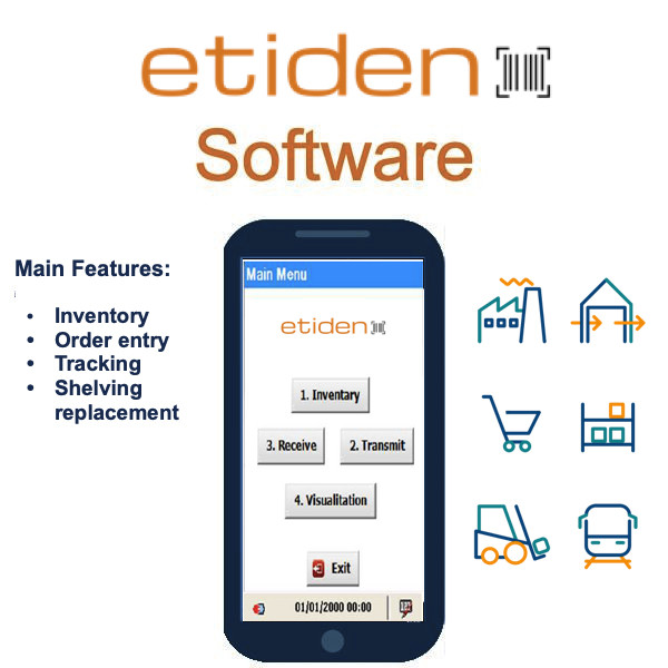 Etiden monitoraggio e Inventory Software