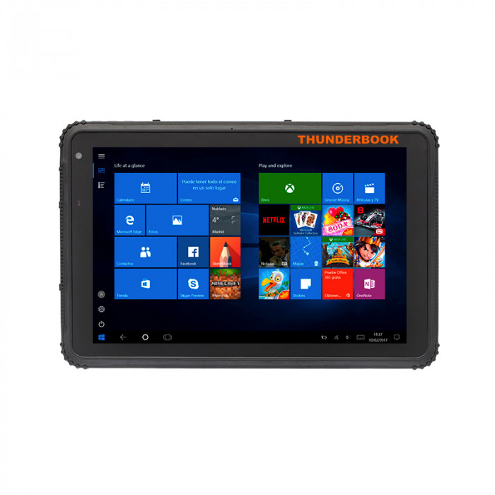 "Titan W800 - Tablet 8"" Windows 10 Pro, 4GB / 64GB, M4G, Wifi, Bluetooth 4.0, GPS"