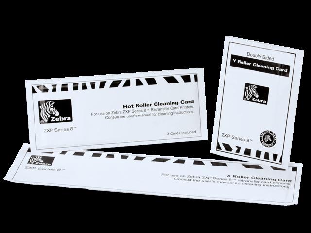 Zebra ZXP Series 8, ZXP Series 9 Reinigungskarten