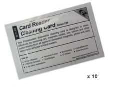 Tarjetas impregnadas en alcohol isopropílico - 10 paquetes