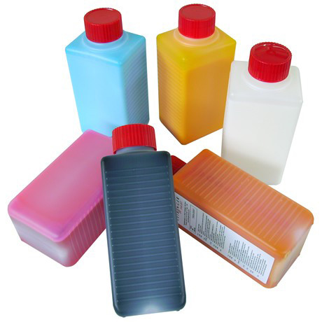 Markem-Imaje® compatible fluids Blue ink food grade / Tinta azul alimentaria