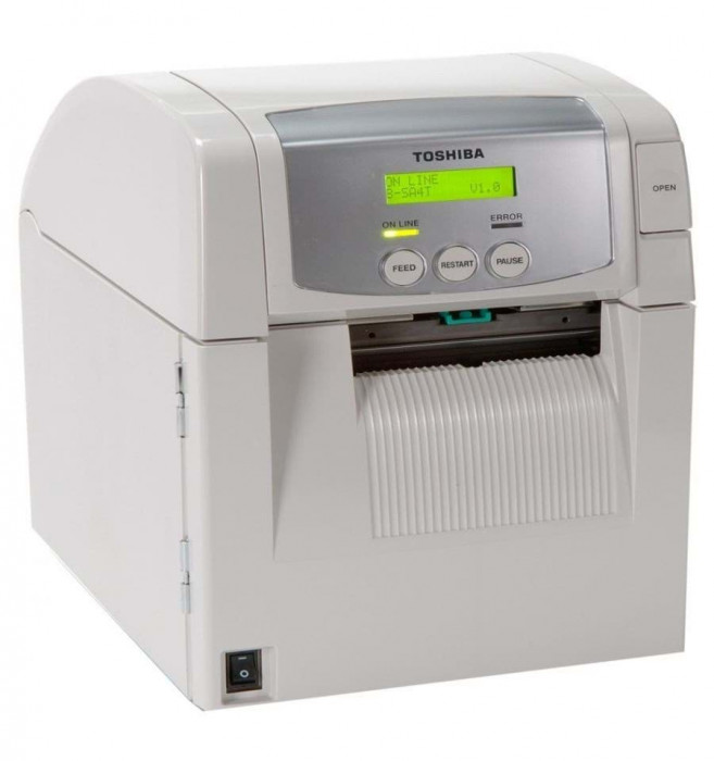 Toshiba Tec SA4TP Desktop Label Printer