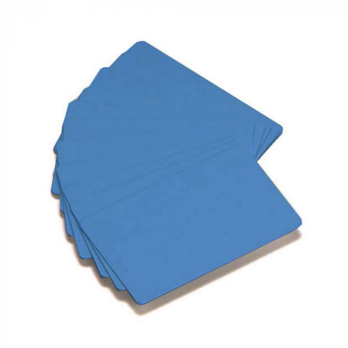 Zebra Premier Color PVC-Karten - Blau