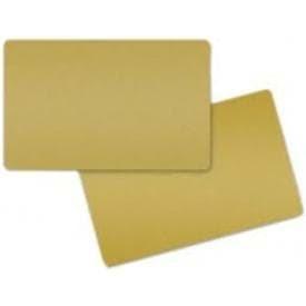 Zebra Premier Color PVC Karten - Gold