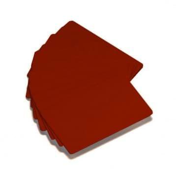 Zebra Premier Color PVC-Karten - Rot