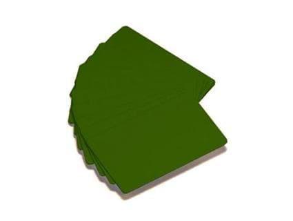 Zebra Premier Color PVC-Karten - Grün